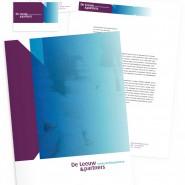 Identiteit en huisstijl voor De Leeuw & Partners, juridische tak van PSI